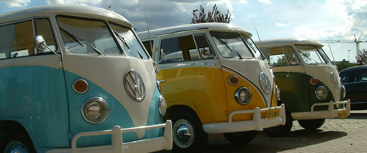 Il primo salone vw bus d'epoca in Italia