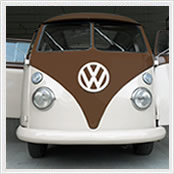 vw kombi sunroof brown beige