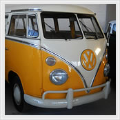 Bus VW T1 Luxo White Yellow 1975